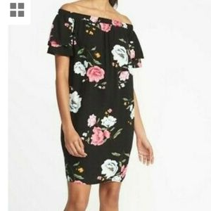 Old Navy shift dress floral xxl  new